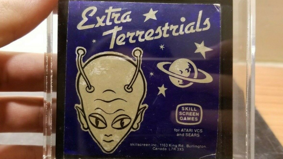 A rare 'Extra Terrestrials' game made in Burlington, Ont. is selling for over $100,000. (Gamewizard69 via eBay)