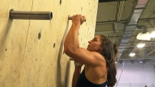 Ninja athlete Catherine Malette