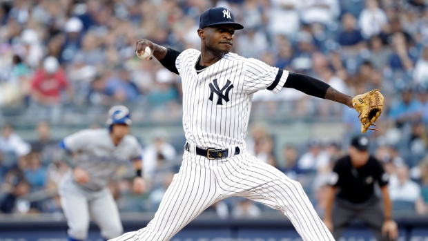 Yankees Domingo German placed on leave under Major League Baseball domestic violence policy