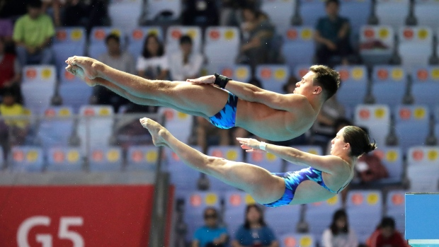 synchro diving