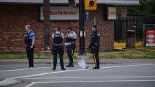Langley city stabbing