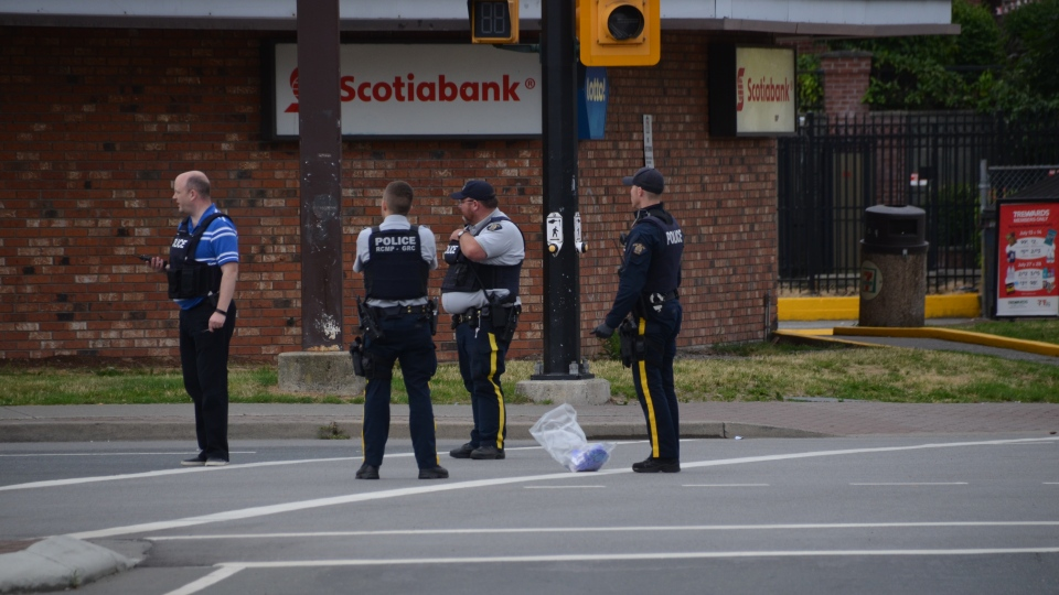 RCMP are investigating after an early morning stabbing in the City of Langley on Saturday.