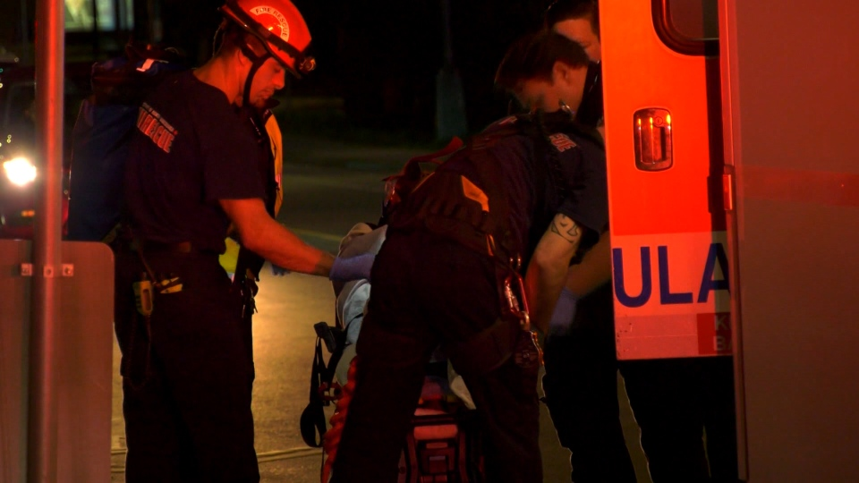 Assistant Chief of Operations David Dales said the young man plummeted roughly 35 to 55 feet down an embankment in the ravine. (CTV)