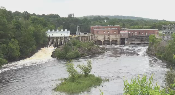 The Milltown Hydroelectric Generation Station on the St. Croix River is the oldest of its kind in Canada. NB Power says it has reached the end of its life.