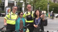 Vancouver paramedic bike team