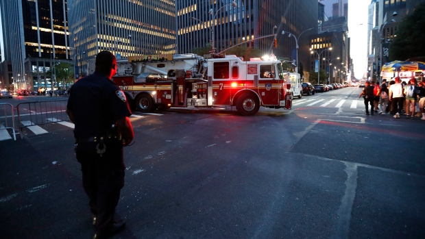 Widespread power outages hit parts of New York's Manhattan