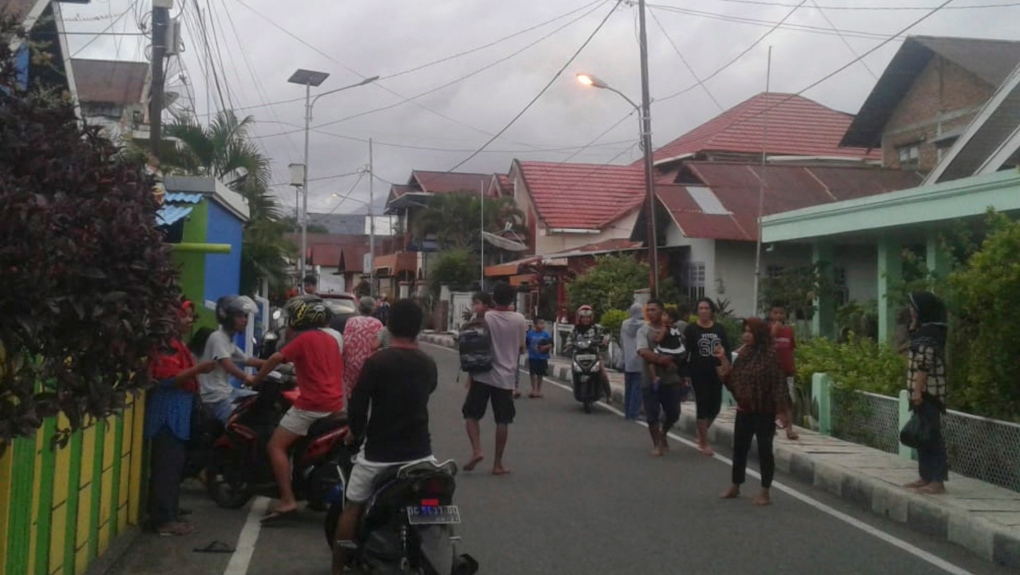 2 dead, dozens of homes damaged in Indonesian quake