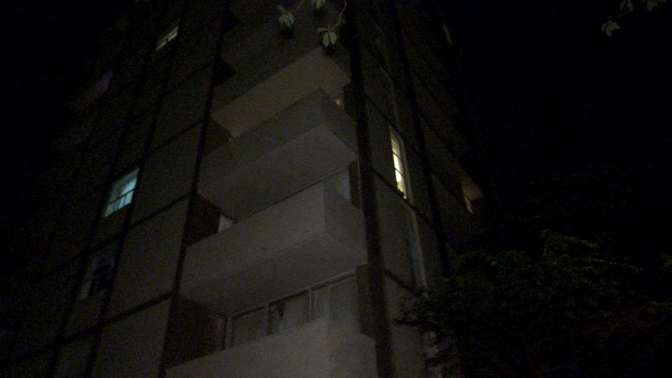 Vancouver police were called to a West End high-rise after receiving reports a man was throwing items from an upper-floor unit.