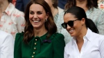 Meghan, Kate watch the action at Wimbledon