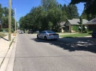 Police have part of Emery Street blocked off for an investigation on Sunday, July 14, 2019. (Taylor Choma / CTV London)