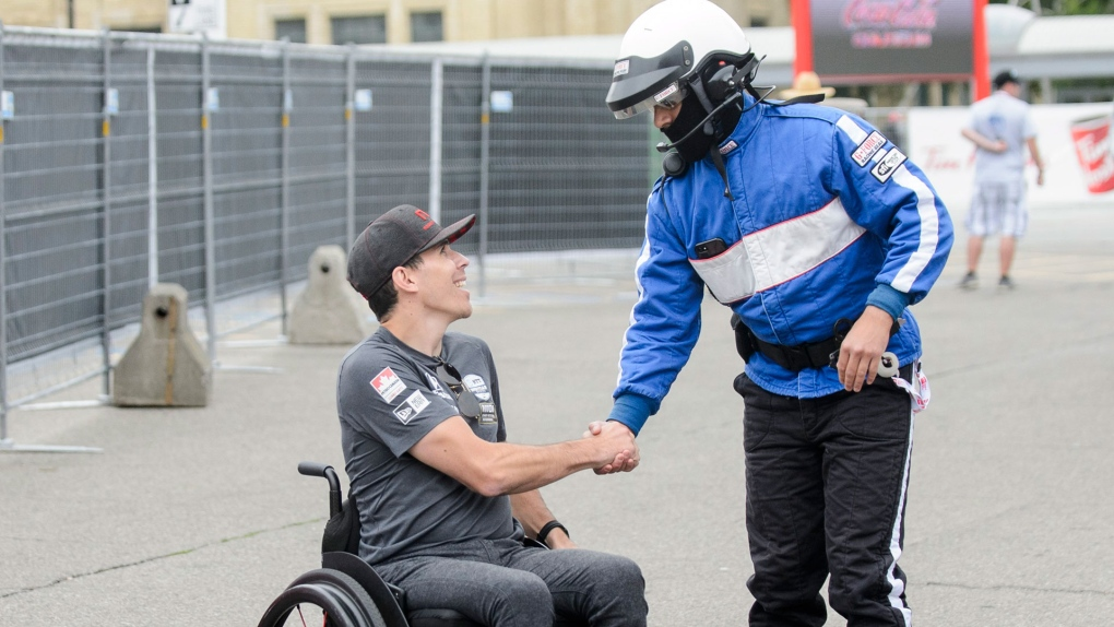 Robert Wickens makes emotional return at IndyCar race in Toronto