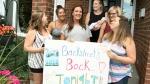 Backstreet Boys fans taking over Bluesfest