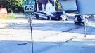 Police cruiser blows past stop sign, injuring six