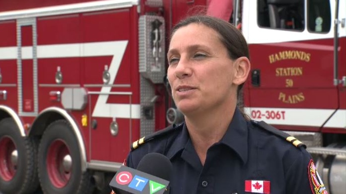 """They came in quiet,"" said Halifax Fire Capt. Andrea Speranza. ""And now they're rip roaring to become police officers firefighters and paramedics."""