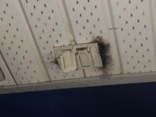 Lori Docherty burn damage