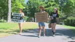 Animal activists Waterloo Park