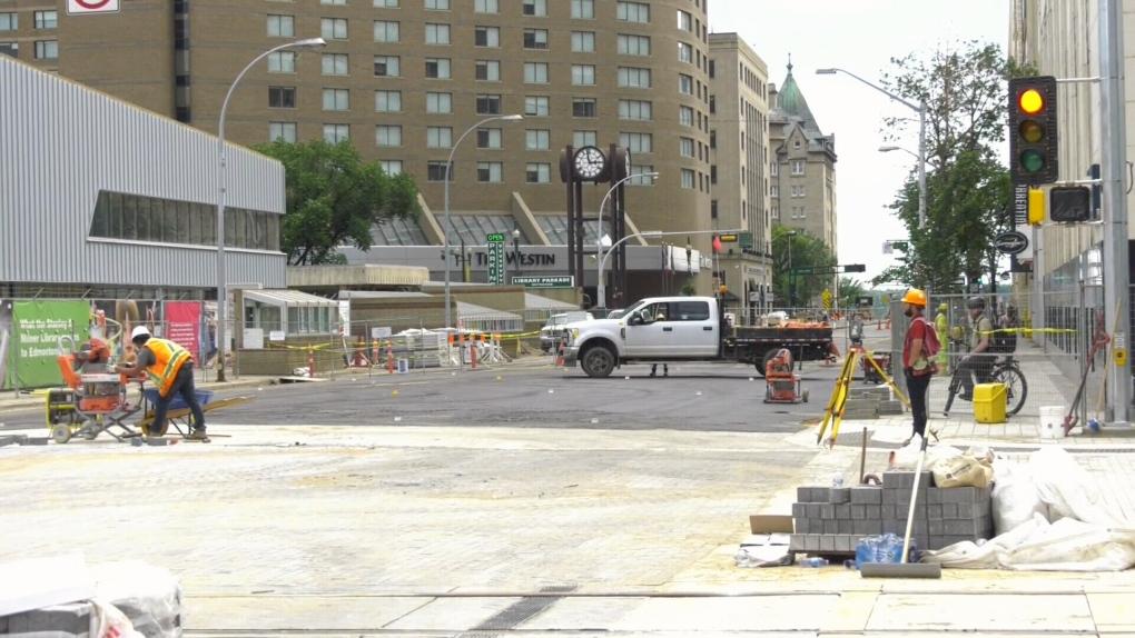 100 Street, 102 Avenue reopens Monday | CTV News