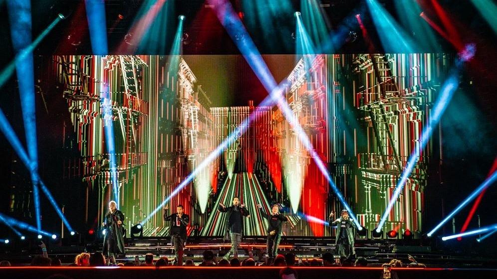 Backstreet Boys wrap up Bluesfest