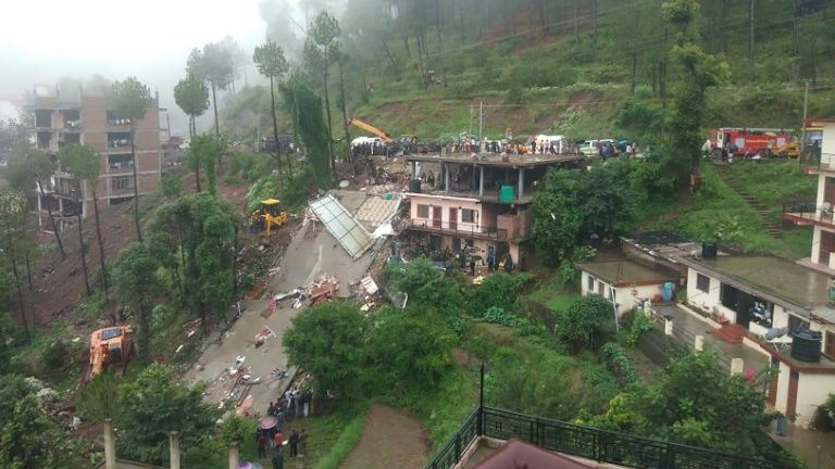 House collapse kills 12 in India after monsoon rains