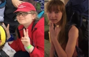 Missing teens: Marta, on left, and Maya, on right (Ontario Provincial Park)