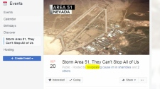 Nearly a million people plan to storm Area 51