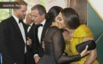 Duke and Duchess of Sussex meet Beyonce