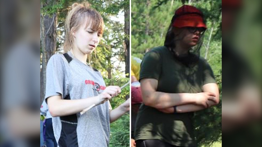 Missing girls in Algonquin Park found safe
