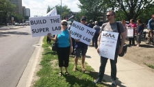 AUPE Protest