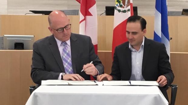 Saltillo Mexico Windsor Ontario agreement