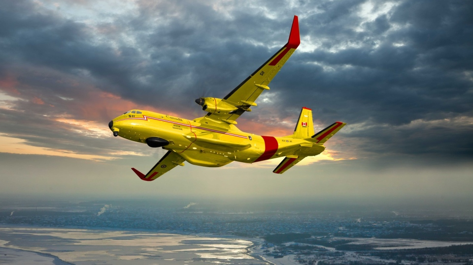 A Royal Canadian Air Force rendering of the CC-295 search and rescue aircraft. (Royal Canadian Air Force)