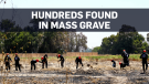 Remains being unearthed in mass grave in Syria