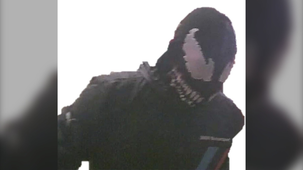 Airdrie RCMP seek 'Venom' after local restaurant robbed by masked man