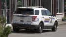 An RCMP vehicle is shown in this undated file photo.