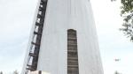 Refurbishing the water tower in West Ferris