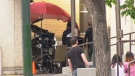 Filming of the new Ghostbusters movie began Monday, July 15 in Calgary's Beltline