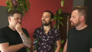 CTV Montreal: Local band takes Osheaga stage