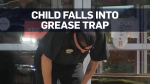 Warning: Boy dies after falling into grease trap