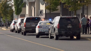 In July 2019, Nanaimo's Woodgrove Centre mall was temporarily locked down due to a report of a youth with a gun inside. (CTV News)