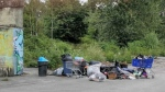 Trespassers leave huge mess for property owners