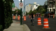 Burrard bike lane marks 10 years