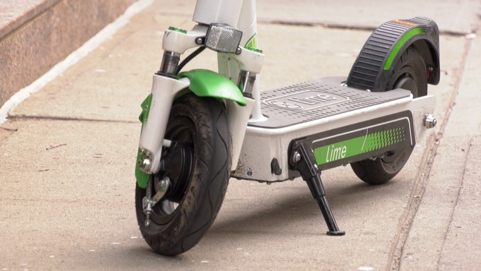 Dozens of people have shown up at Calgary emergency rooms with injuries related to electric scooter