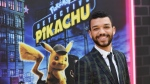 U.S. actor Justice Smith at the 'Pokemon Detective Pikachu' premiere, Times Square, New York City, on May 2, 2019. (Angela Weiss / AFP)