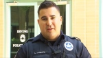 Texas officer saves children from flipped SUV