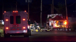 A Maple Ridge recycling facility was gutted by a fire late Monday night.