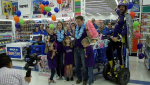 "Lily and her family were invited to an exclusive, three-minute shopping spree at Toys""R""Us in Sunridge Mall."