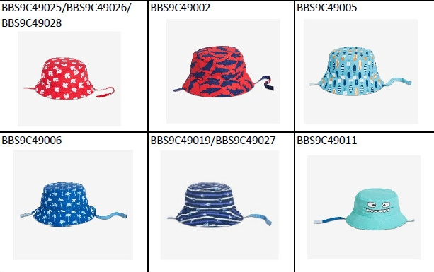 c52e1a6e Recall: Sun hats for babies, toddlers could pose choking hazard ...
