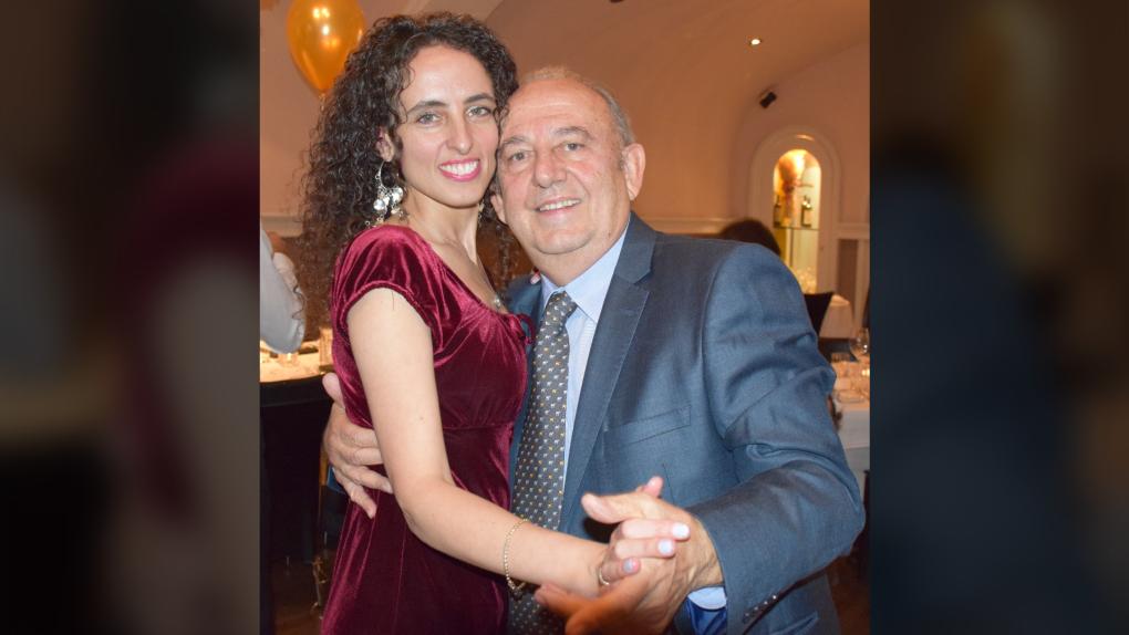 Iris Kulbatski and father