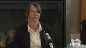 Tasha Brown, mother of allegedly adbucted toddler Kaydance Etchells, says she is preparing herself for the process of being reunited with her daughter. July 16, 2019. (CTV Vancouver Island)