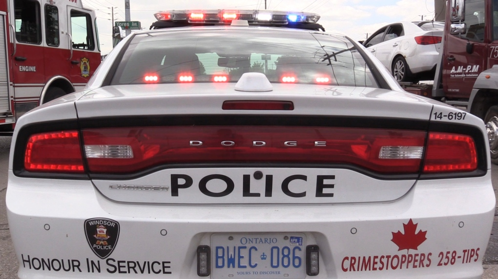 Windsor man arrested after Dougall business break-in