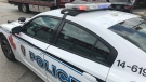 Windsor police cruiser in Windsor, Ont., on Friday, July 12, 2019. (Rich Garton / CTV Windsor)